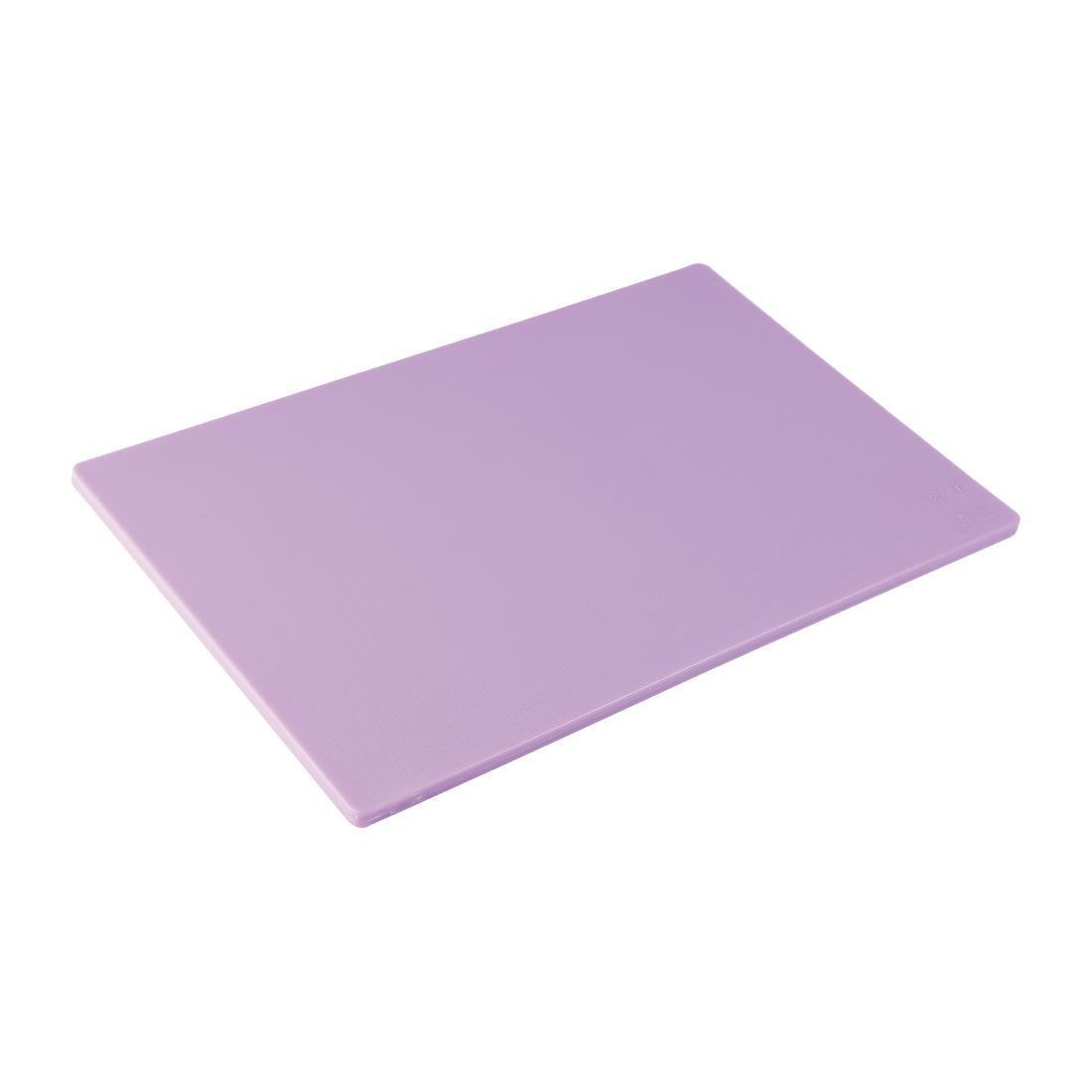 Hygiplas Standard Low Density Purple Chopping Board
