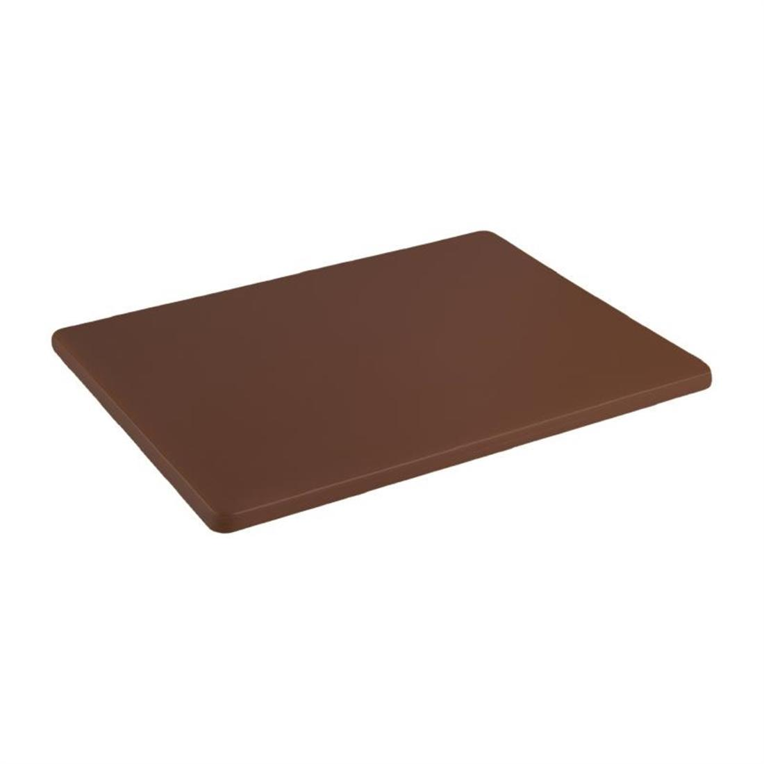 Hygiplas High Density Brown Chopping Board Small