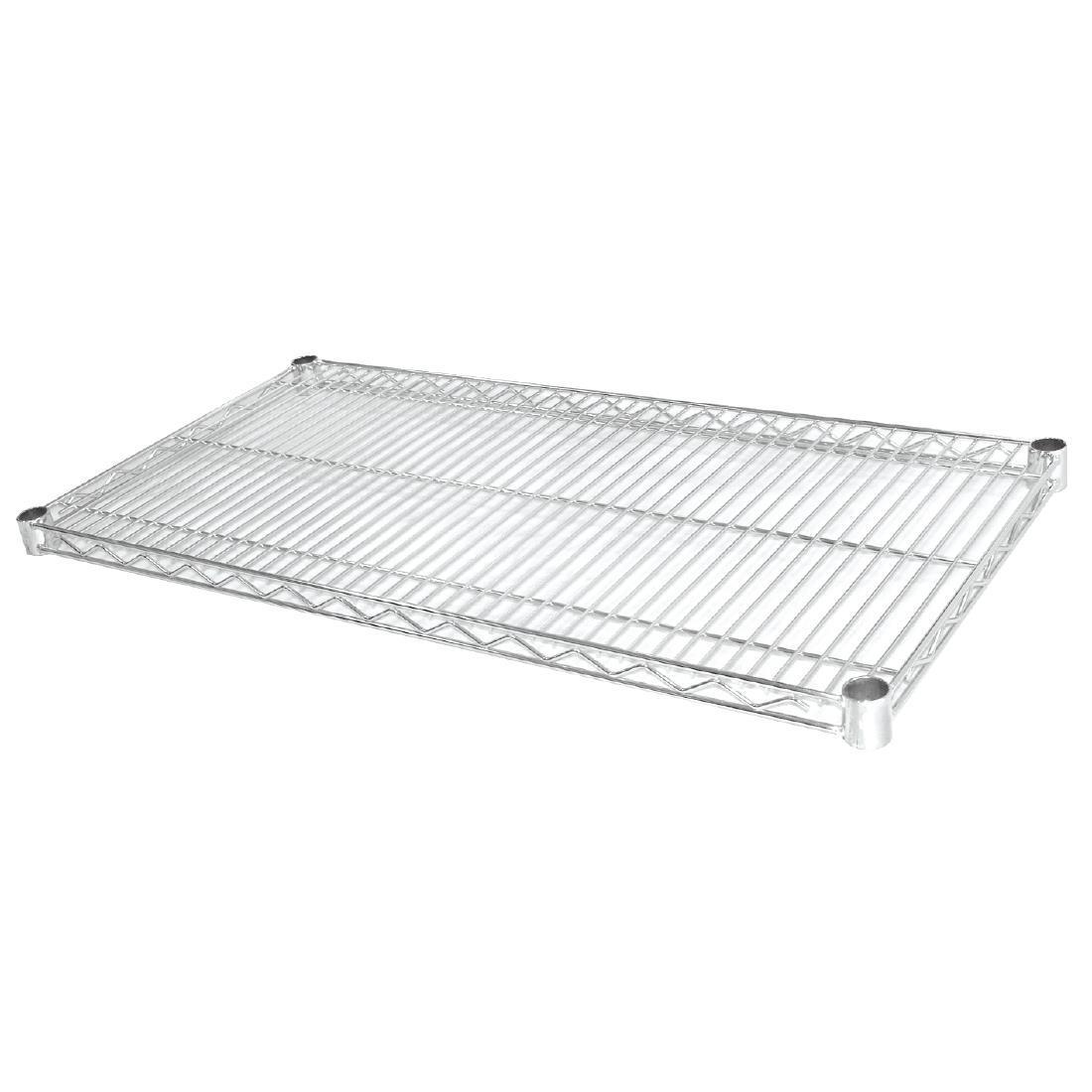 Vogue Chrome Wire Shelves 1220x610mm Pack of 2 - U893