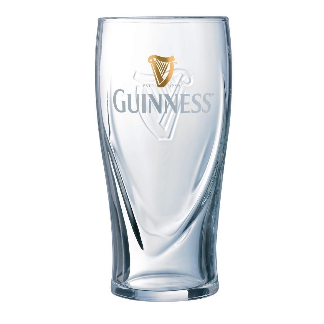 New Guinness Glass - 20oz CE (Box 24) - GG892