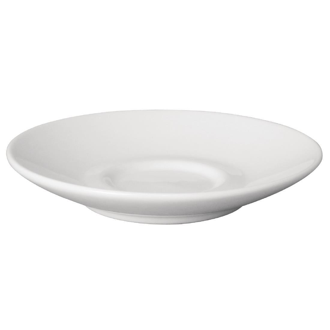 Olympia Cafe Espresso Saucers White 116.5mm