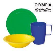 Polycarbonate Crockery by Kristallon