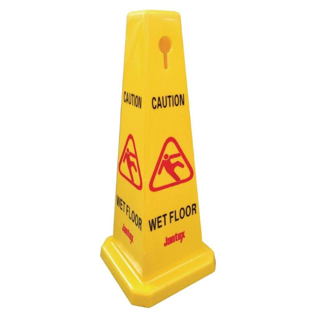 Jantex Cone Wet Floor Safety Sign