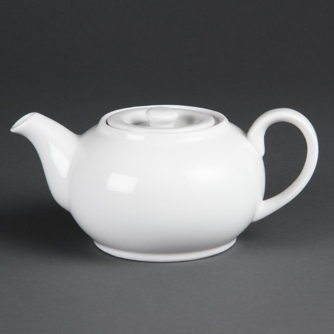 Olympia Whiteware Teapots 852ml