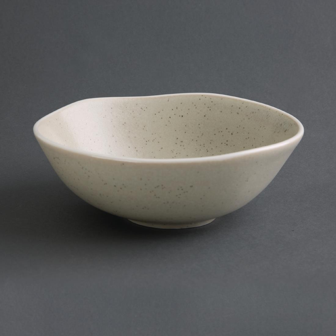 Olympia Chia Small Bowls Sand 155mm