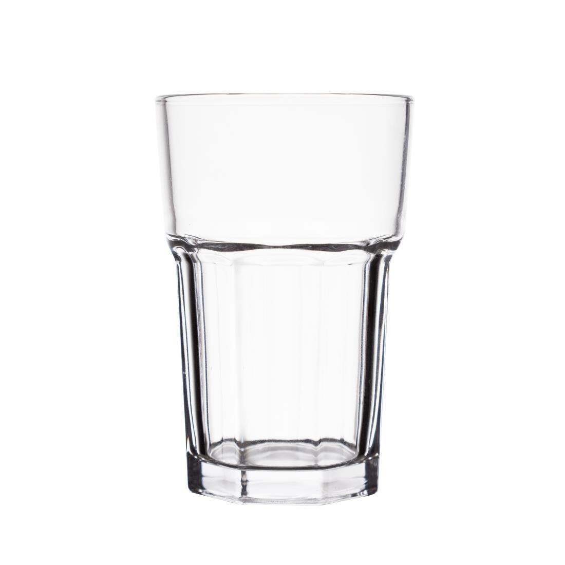 Olympia Toughened Orleans Hi Ball Glasses 285ml