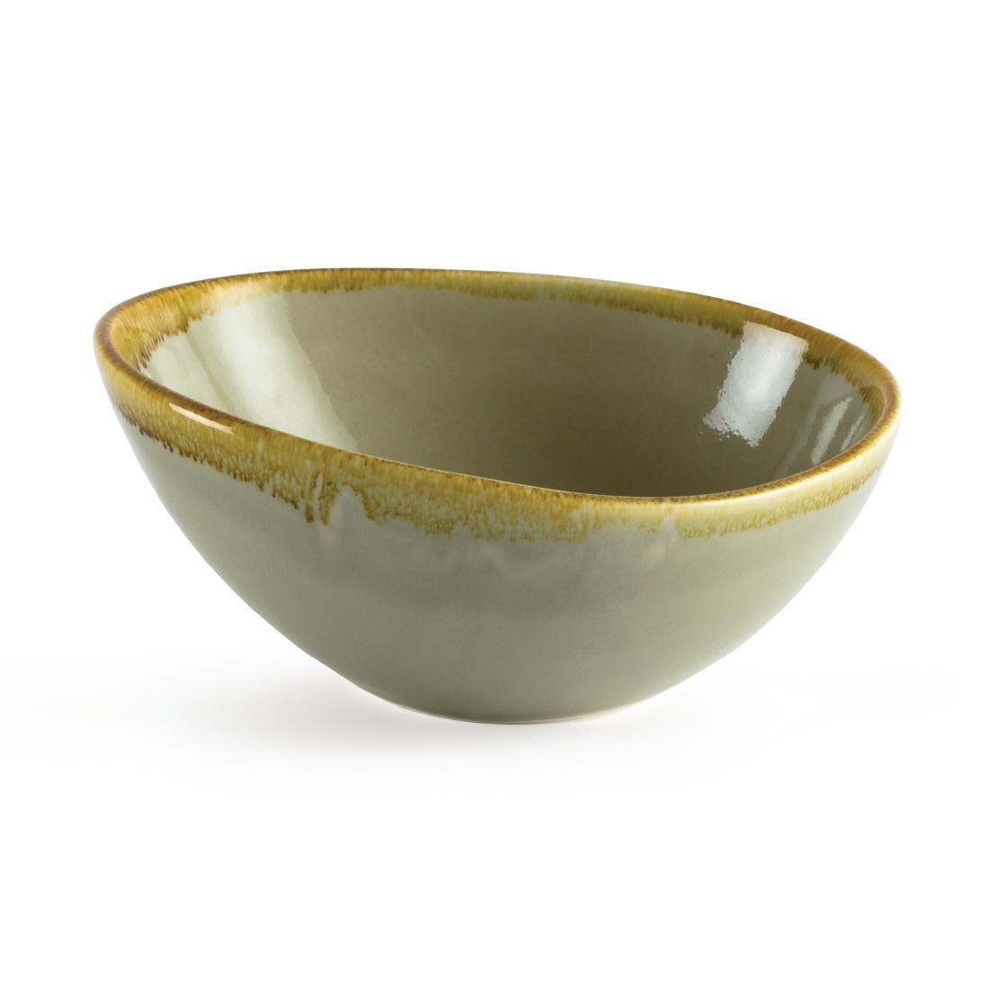 Olympia Kiln Bowl Moss 165mm