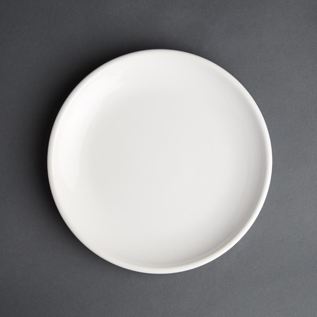 Olympia Cafe Coupe Plate White 250mm
