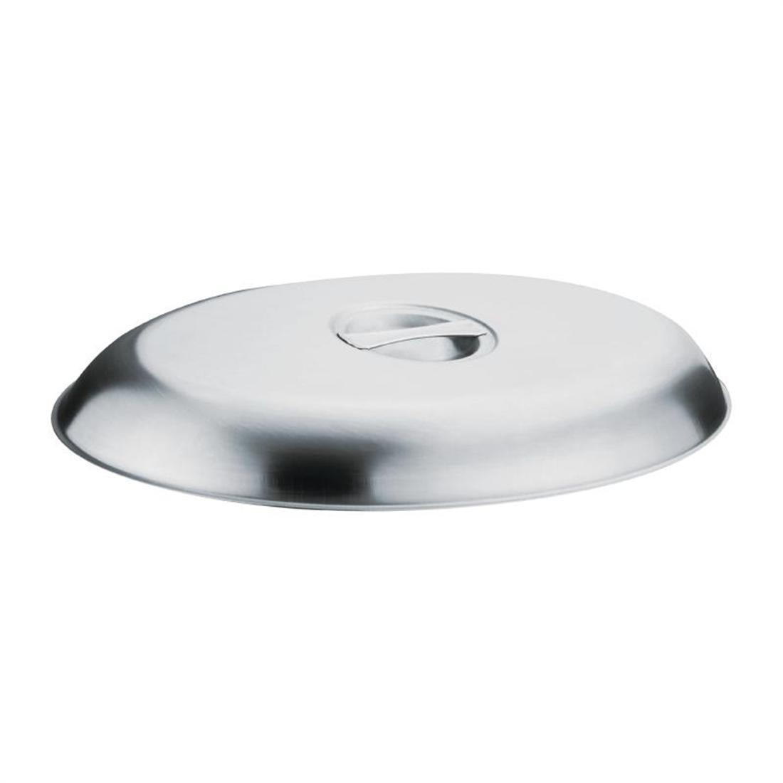Olympia Oval Vegetable Dish Lid 190 x 130mm