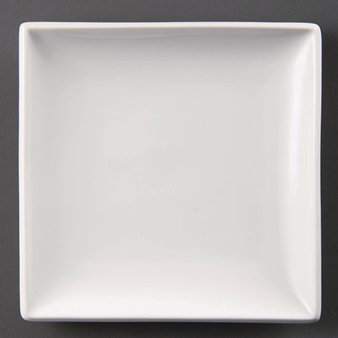 Olympia Whiteware Square Plates 295mm