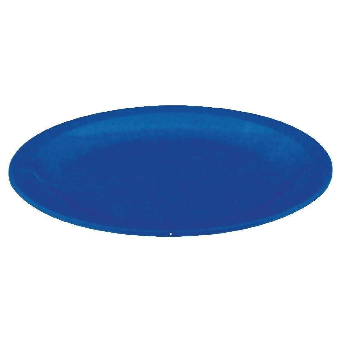 Kristallon Polycarbonate Plates Blue 230mm - Case 12 - CB769