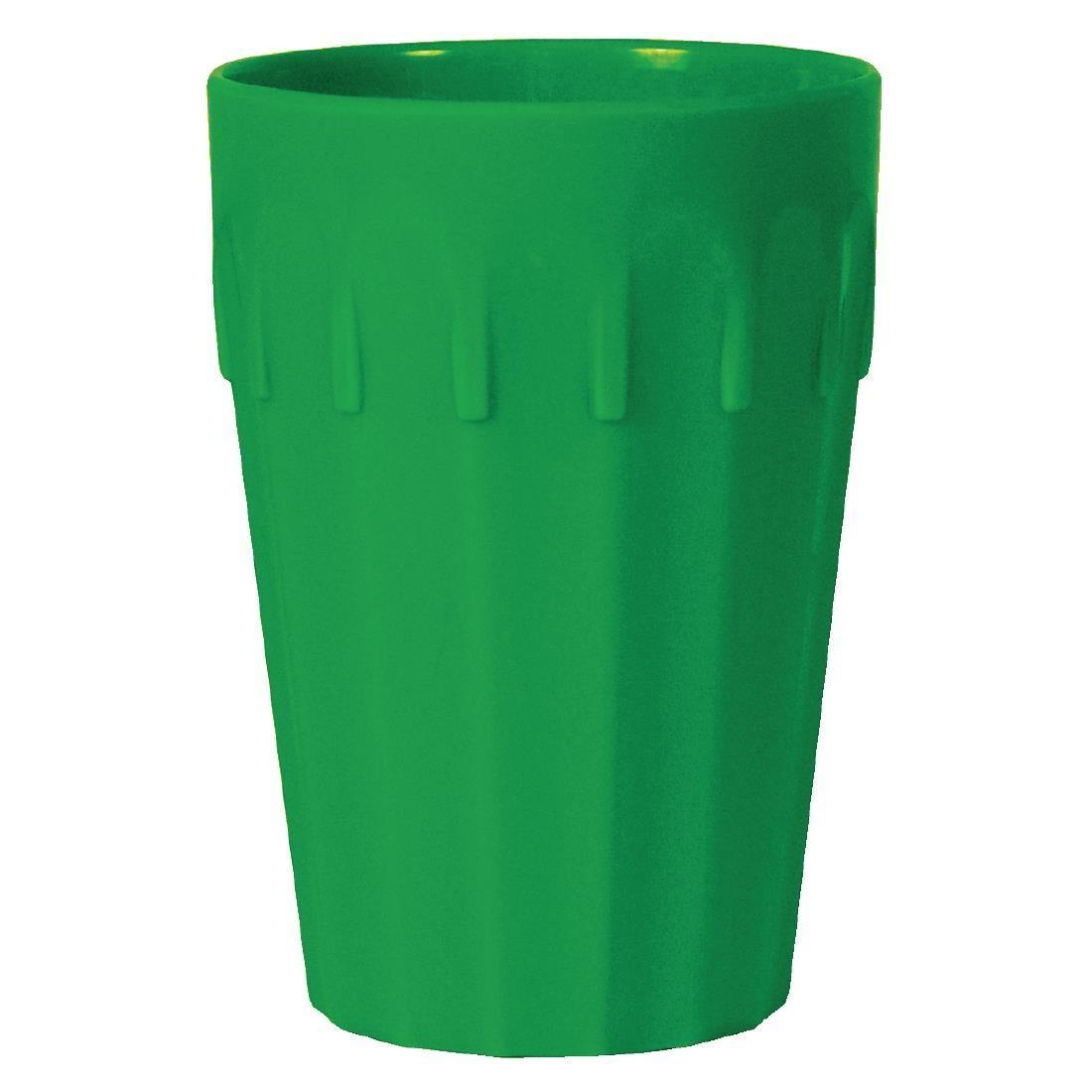 Kristallon Polycarbonate Tumblers Green 142ml - Case 12 - CE271