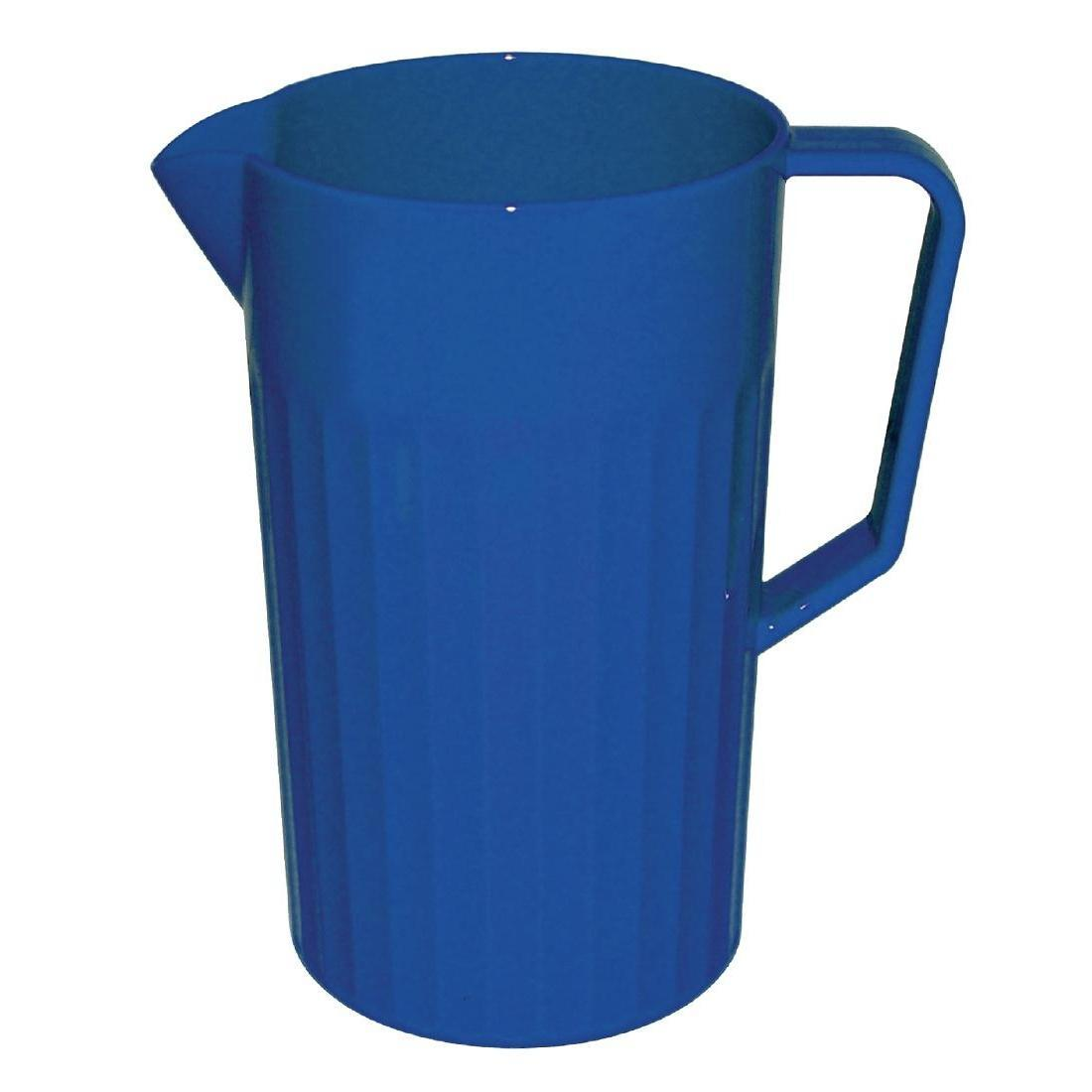 Kristallon Polycarbonate Jug Blue 1.4Ltr - Each - CE280