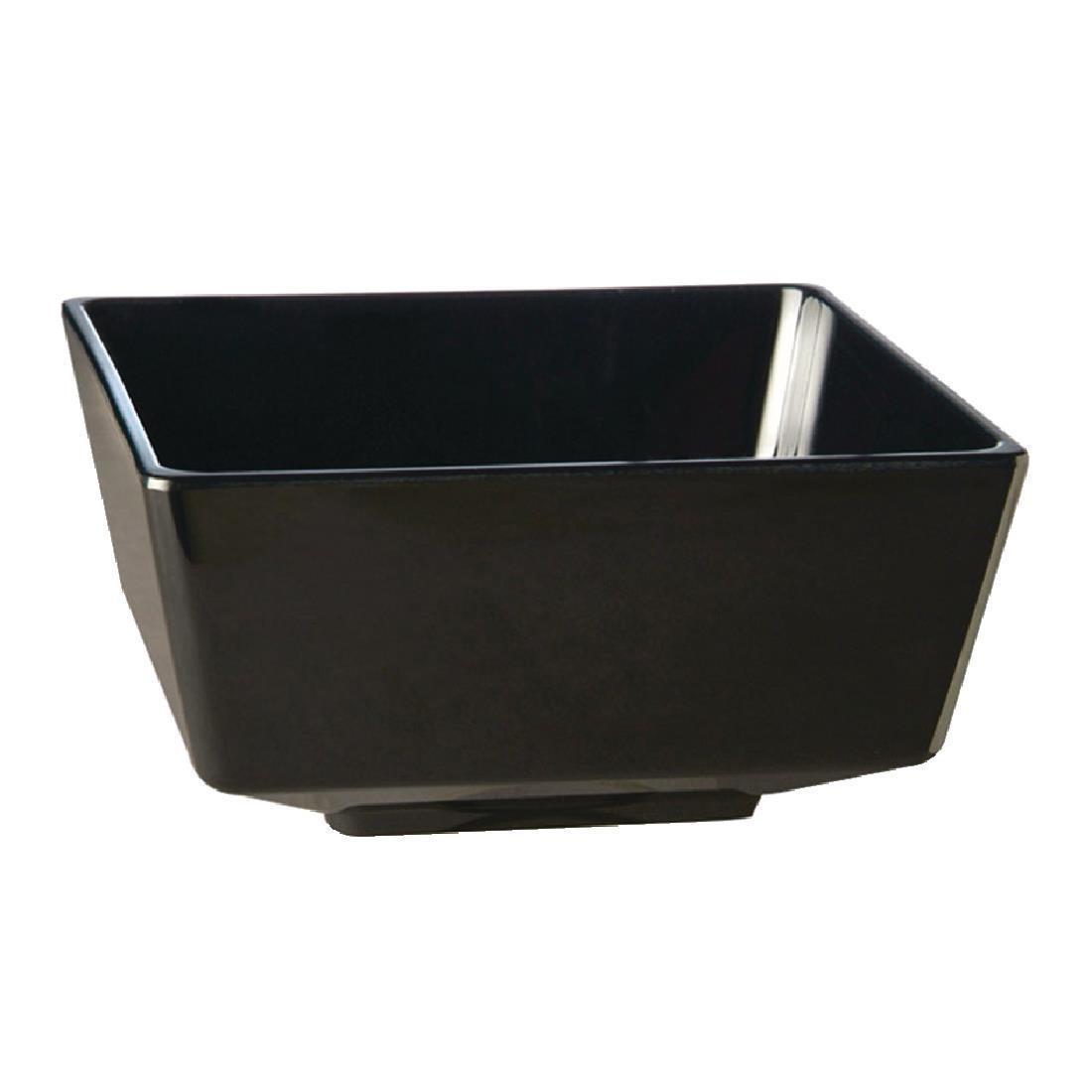 APS Float Square Dipping Bowl Black 55mm - Each - GF091