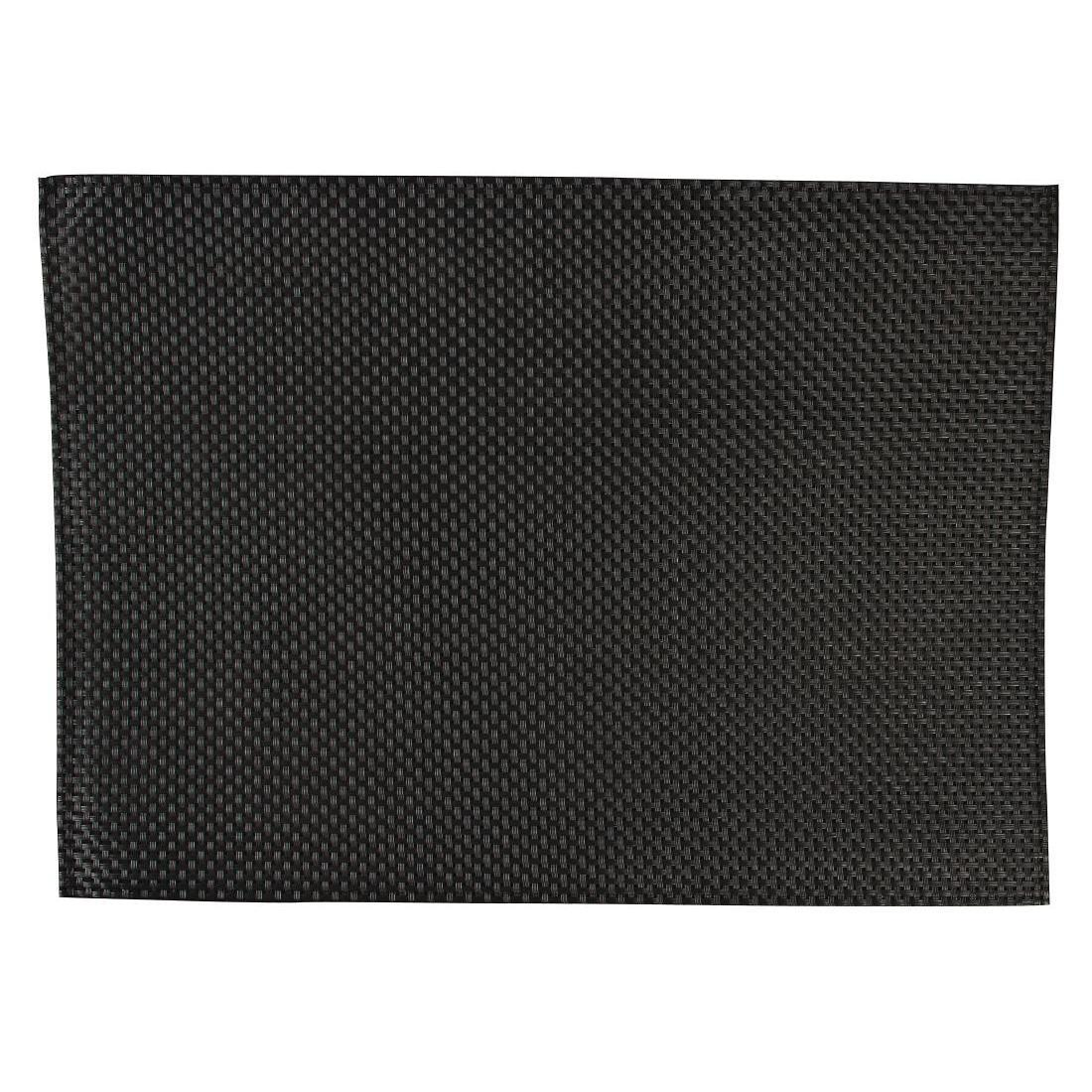 APS PVC Placemat Black - Case 6 - GJ992