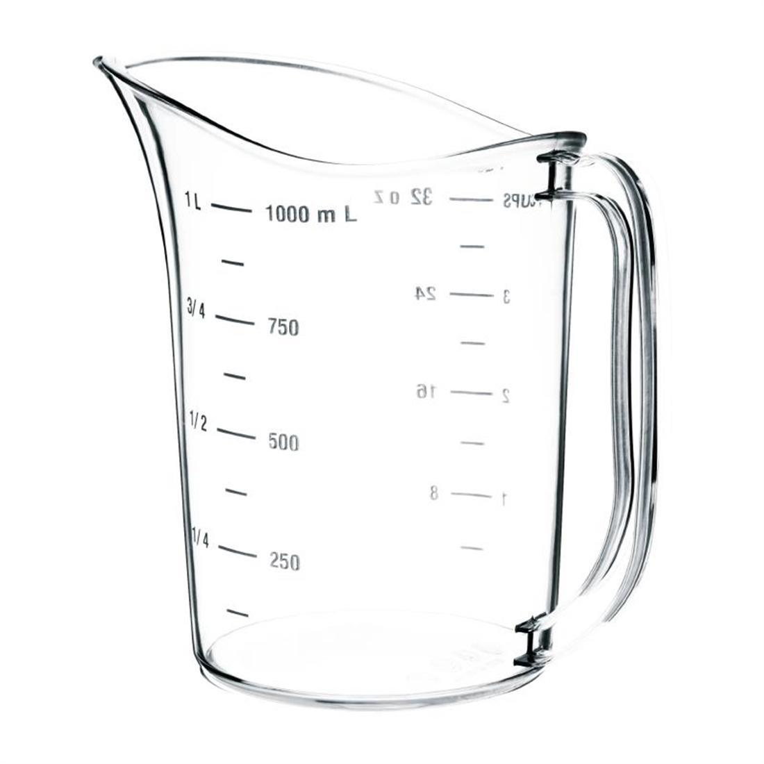 Vogue Polycarbonate Measuring Jug 1L - Each - DB451