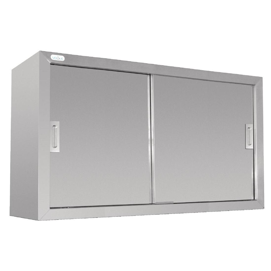 Vogue Stainless Steel Wall Cupboard 1200mm - Each - DL450