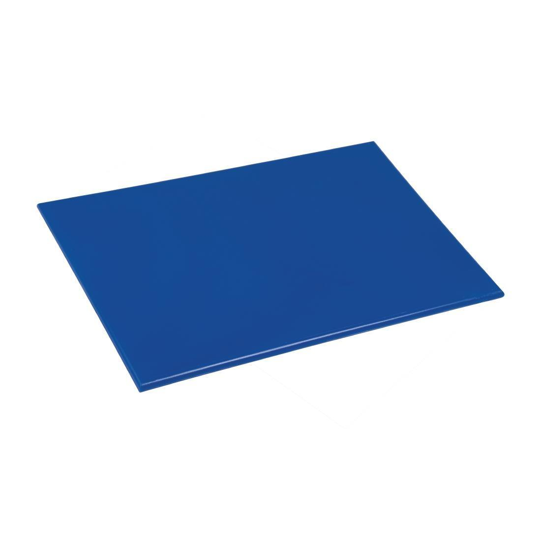 Hygiplas Anti bacterial Low Density Chopping Board Blue