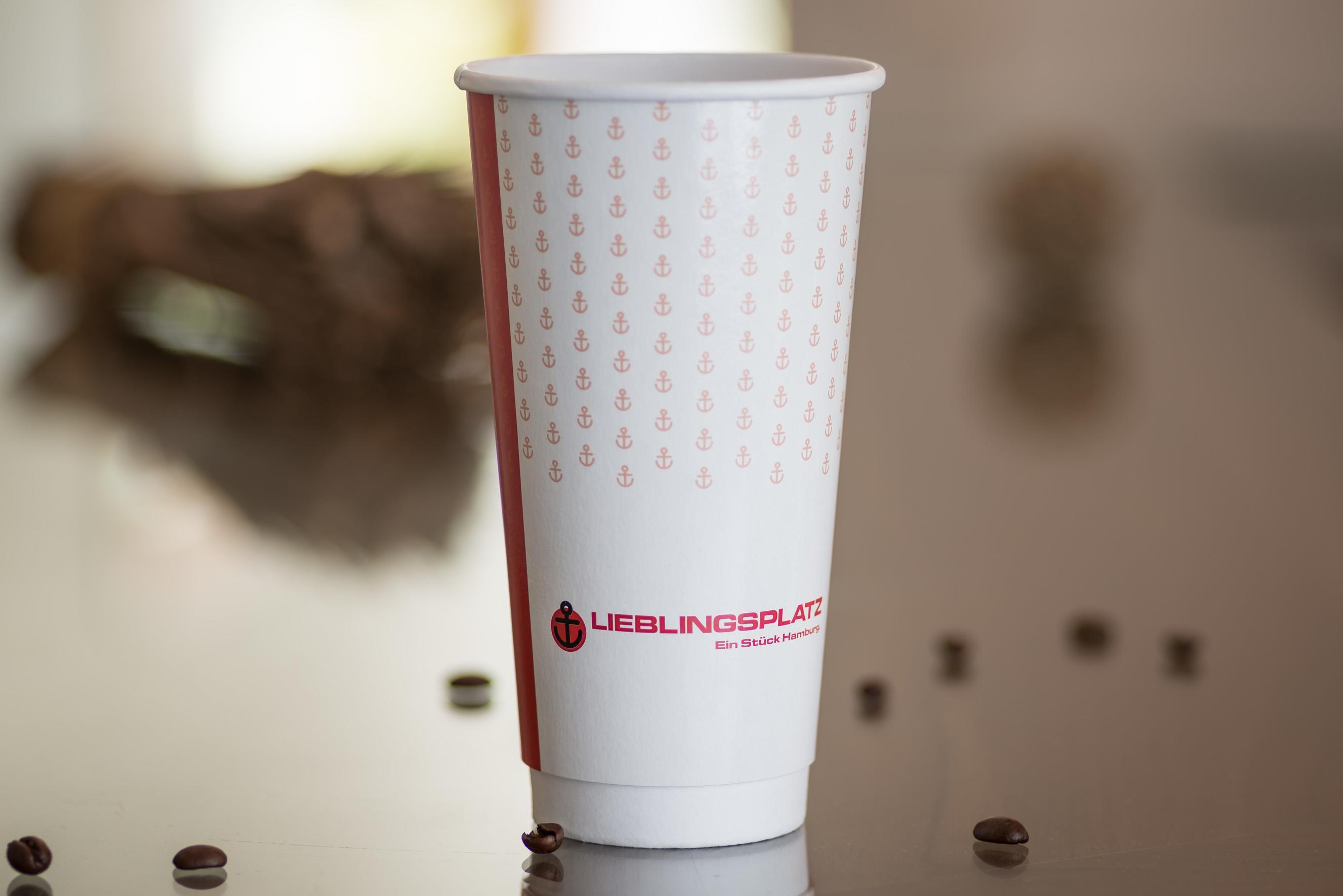 Custom Printed Double Wall 20oz Hot Cup
