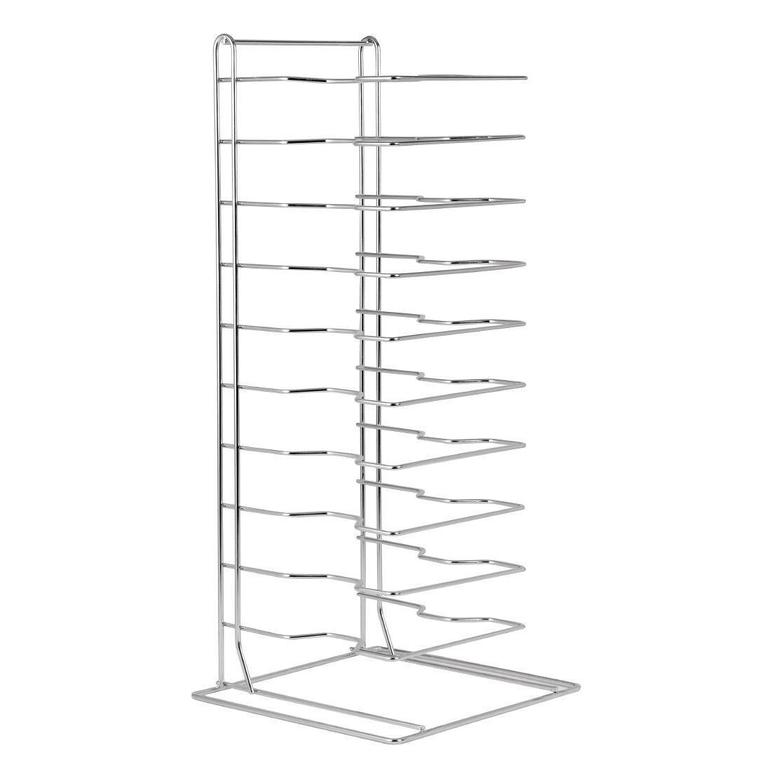 Vogue Pizza Pan Stacking Rack 11 Slot - Each - F026