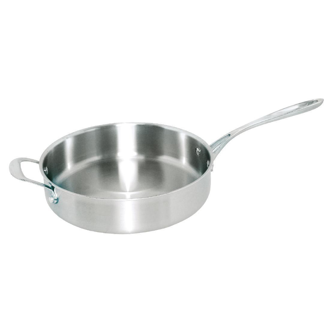 Vogue Tri Wall Saute Pan 280mm - Each - GG032