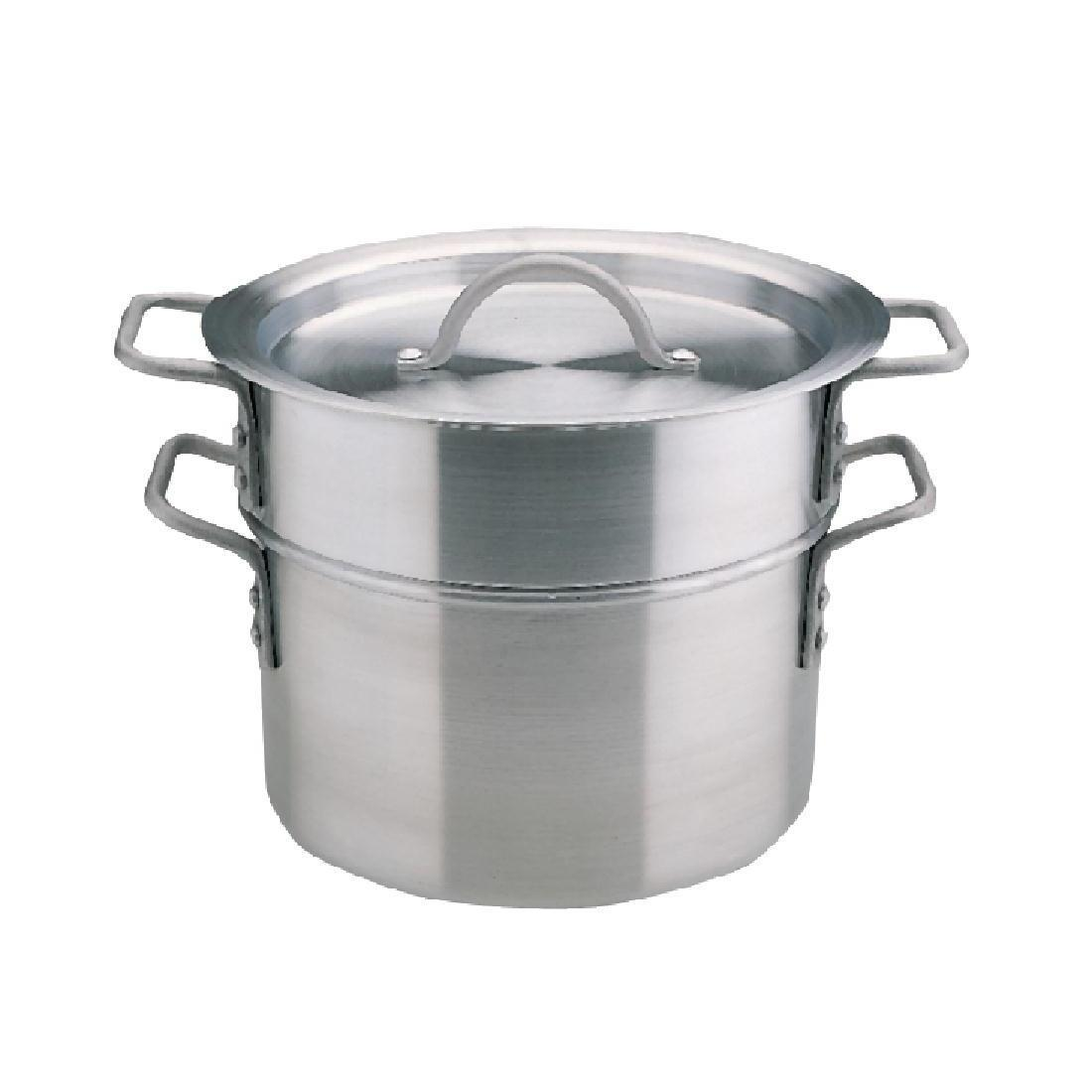 Vogue Aluminium Double Boiler 4Ltr - Each - K643