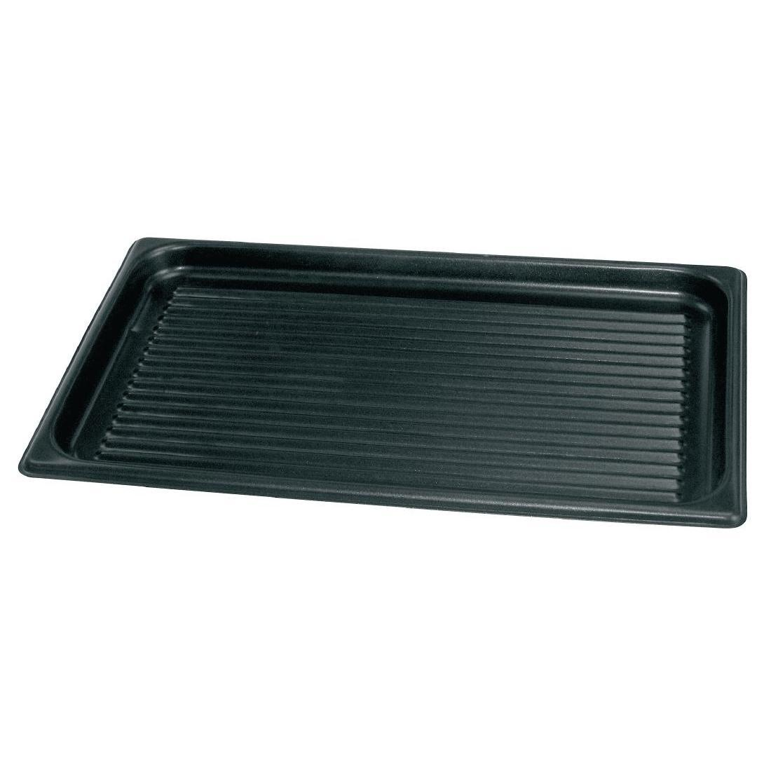 Vogue Ridged Non Stick Baking Sheet - S372