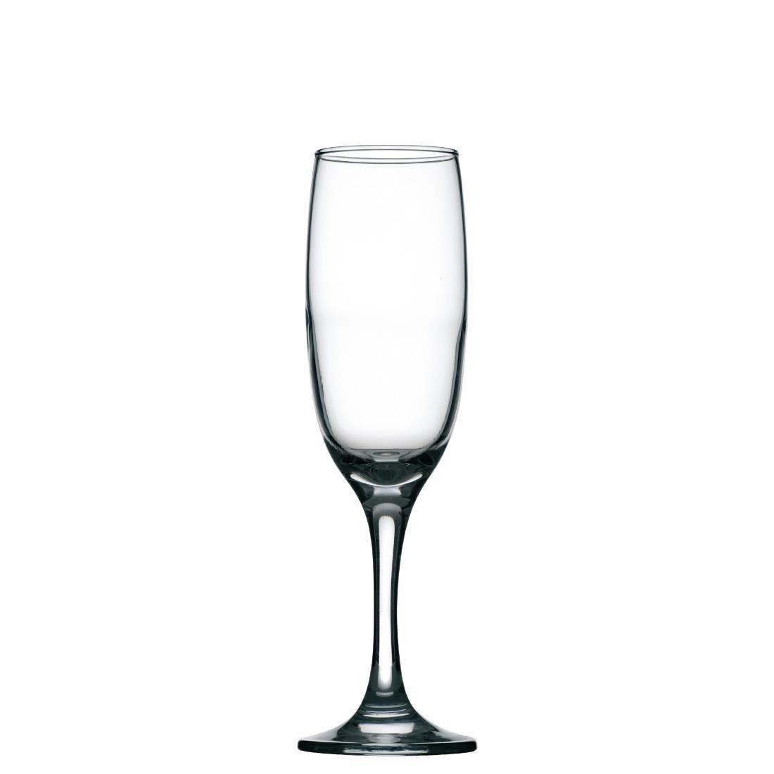 Imperial Flute Glass - 215ml 7.5oz (Box 24) - T273