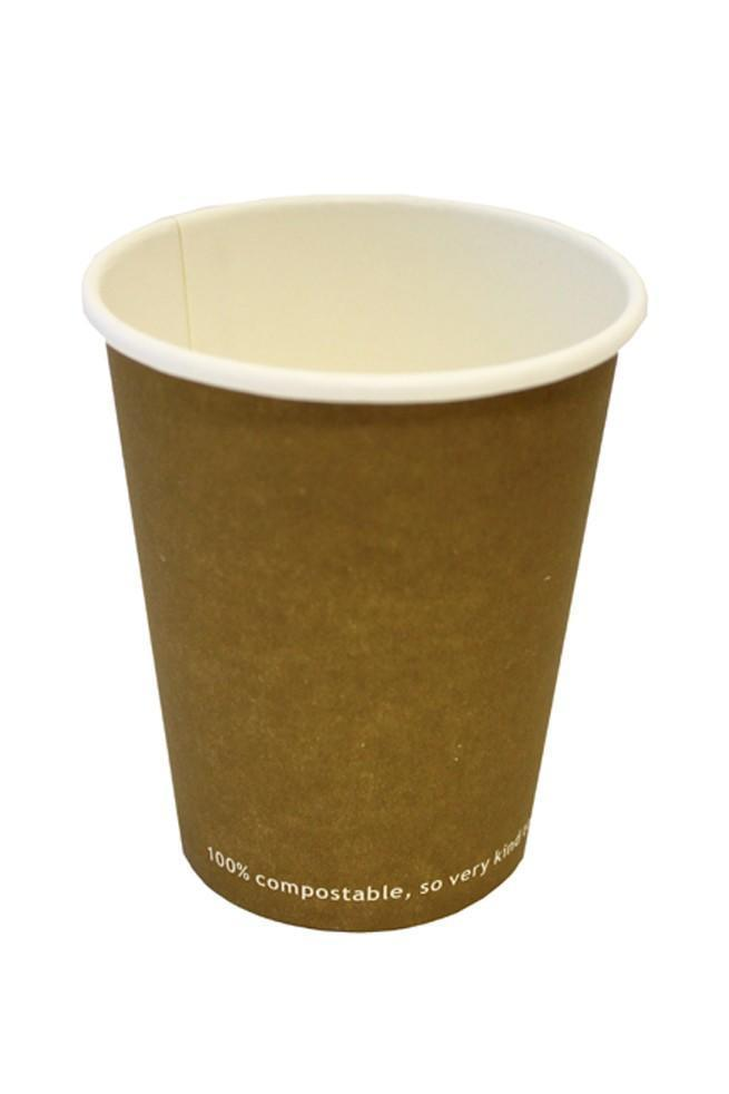 Single Wall Compostable Hot Cups