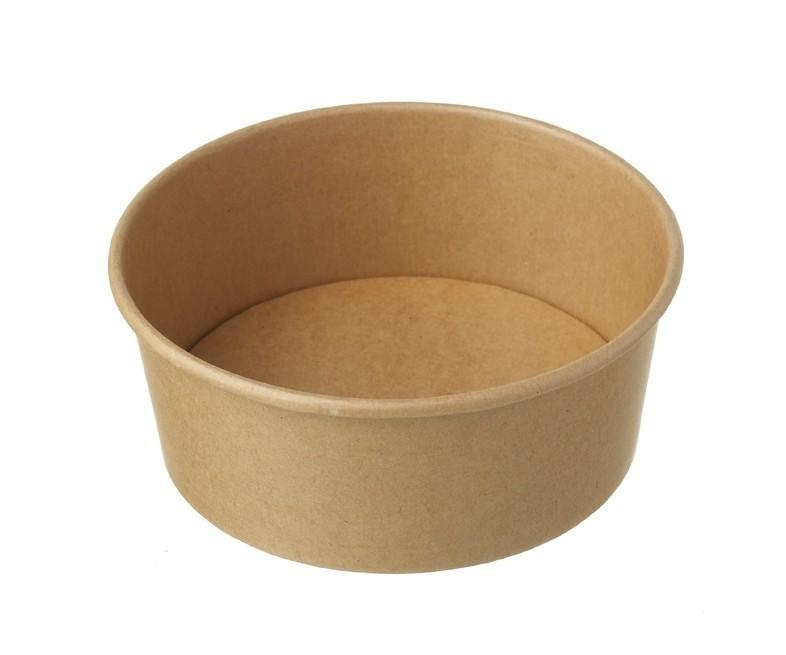 Kraft Salad Bowl 1300ml Compostable