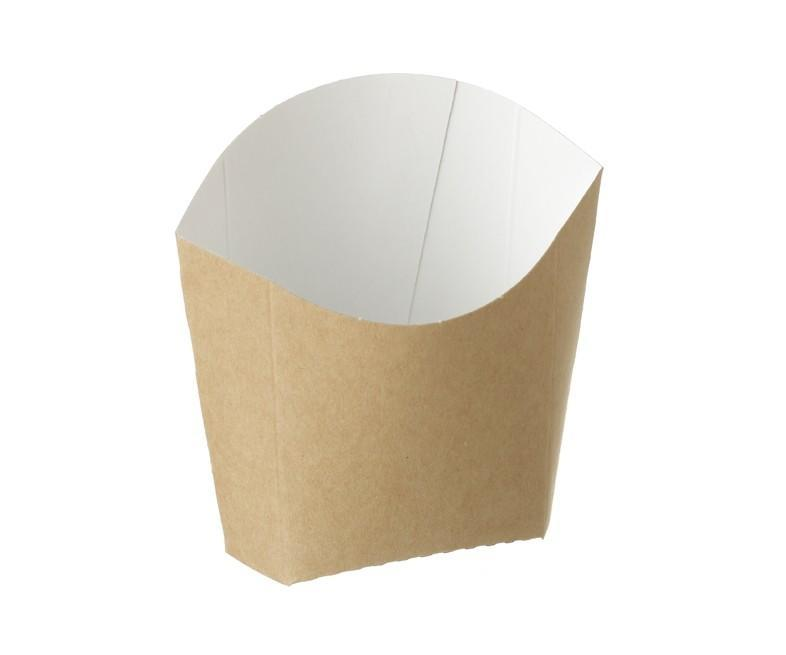 Chip Scoop Kraft Compostable 82/72 x 48/43 x 71/110 mm