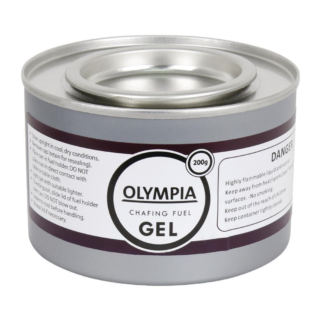 Olympia Gel Chafing Fuel 2 Hour x 12