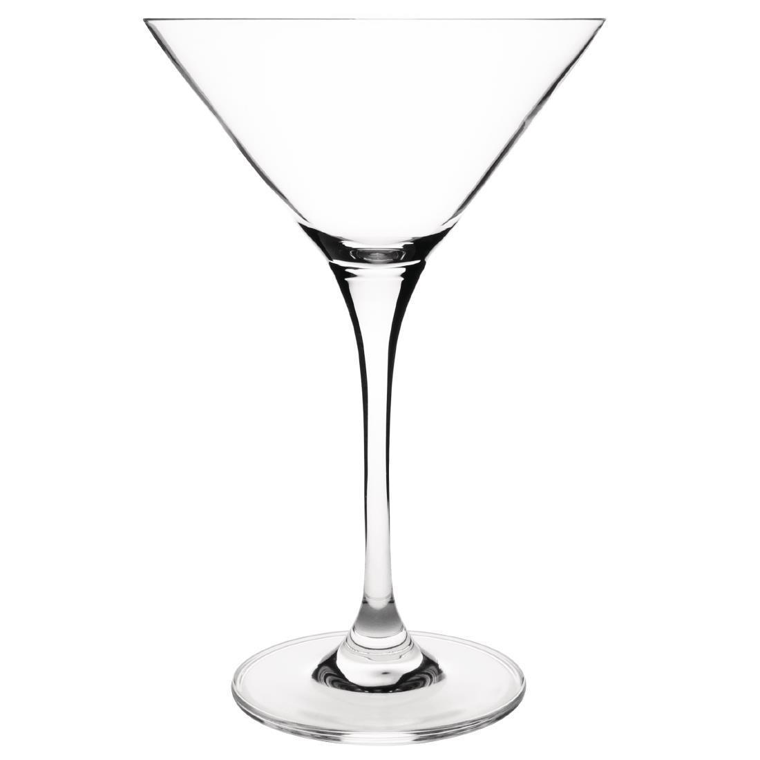 Olympia Campana One Piece Crystal Martini Glass 260ml