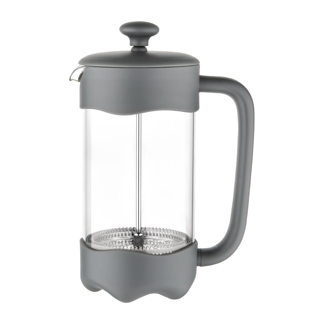 Olympia Contemporary Cafetiere Grey 8 Cup