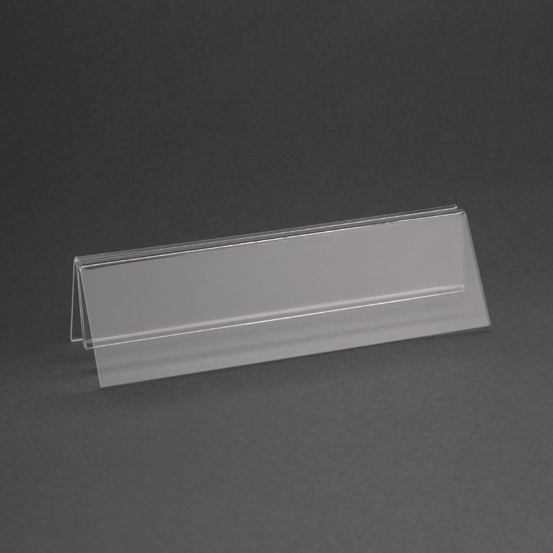 Olympia Wide Base Acrylic Menu Holder