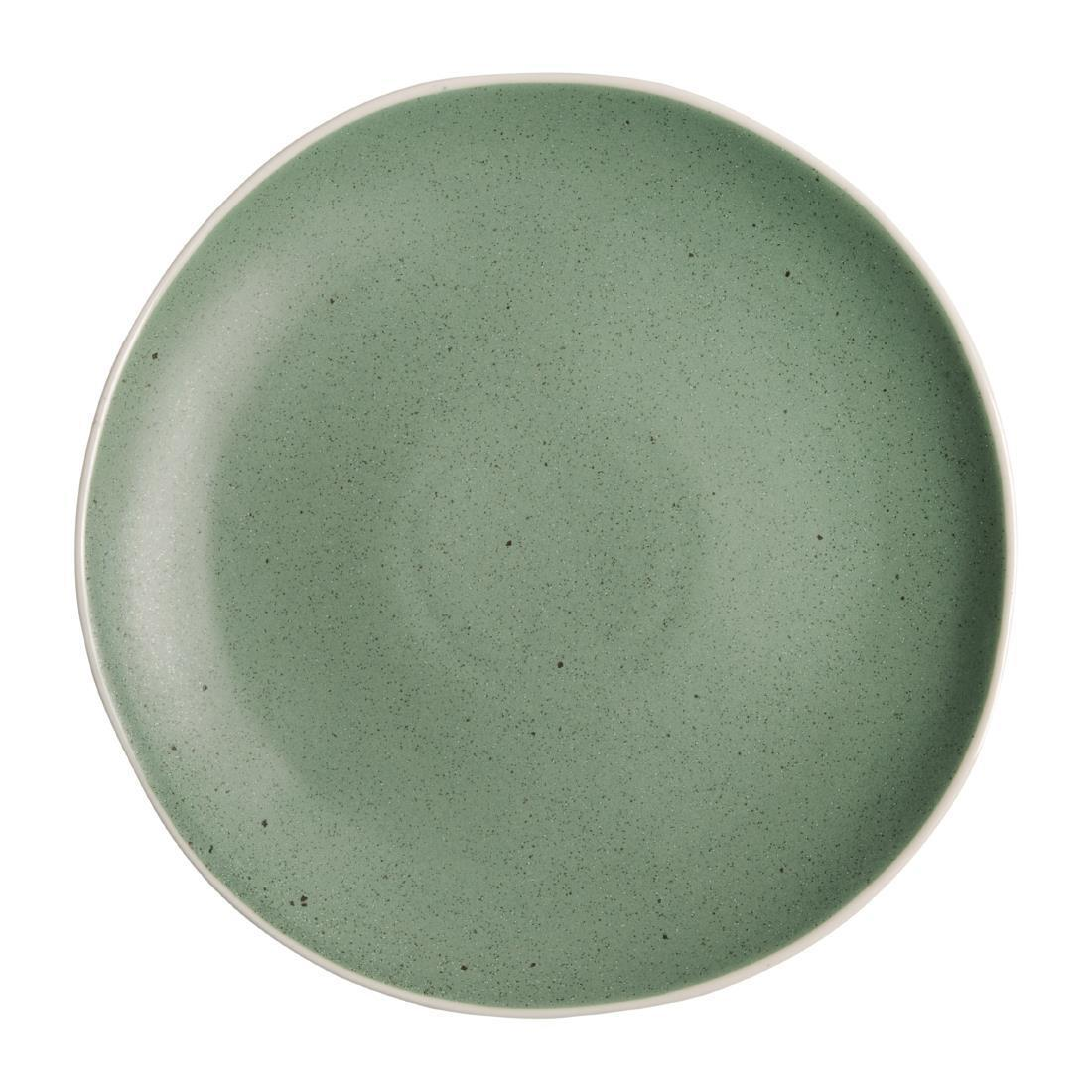 Olympia Chia Plates Green 270mm