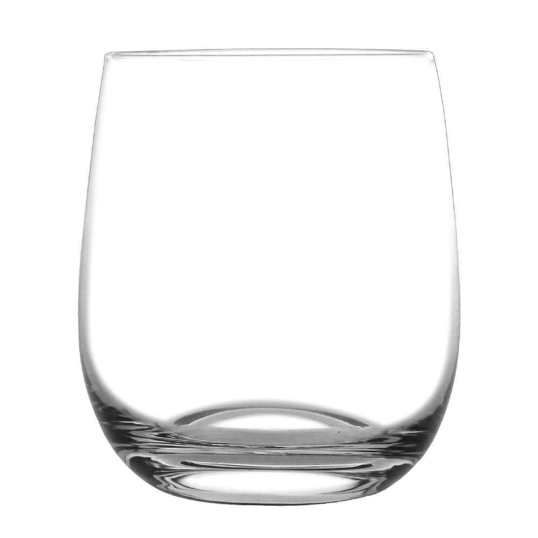 Olympia Rounded Crystal Rocks Glass 315ml