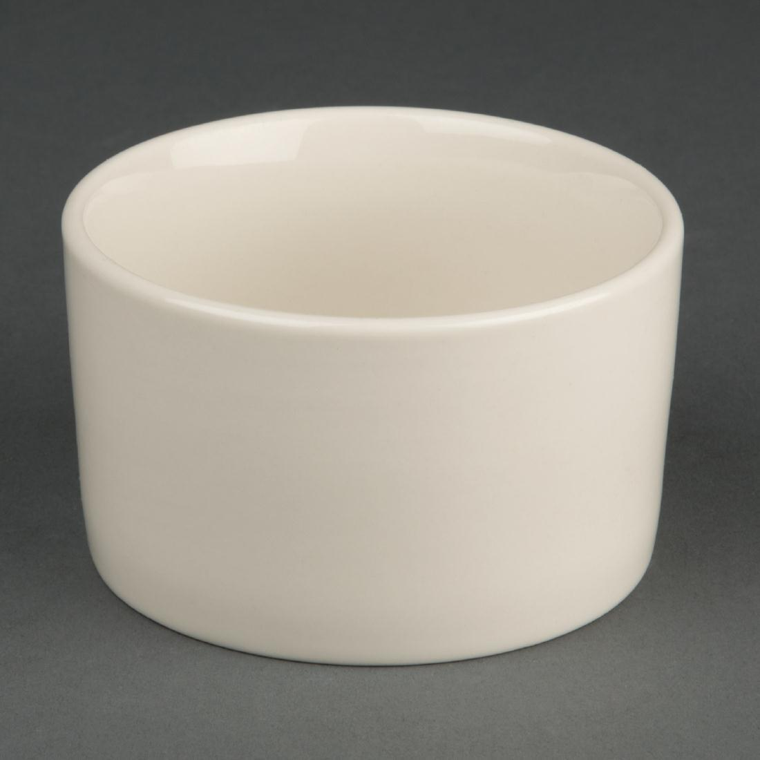 Olympia Ivory Contemporary Ramekins 90mm