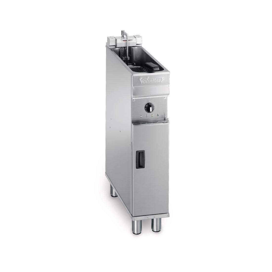 Valentine Single Tank Single Basket Free Standing Electric Fryer Evo 200