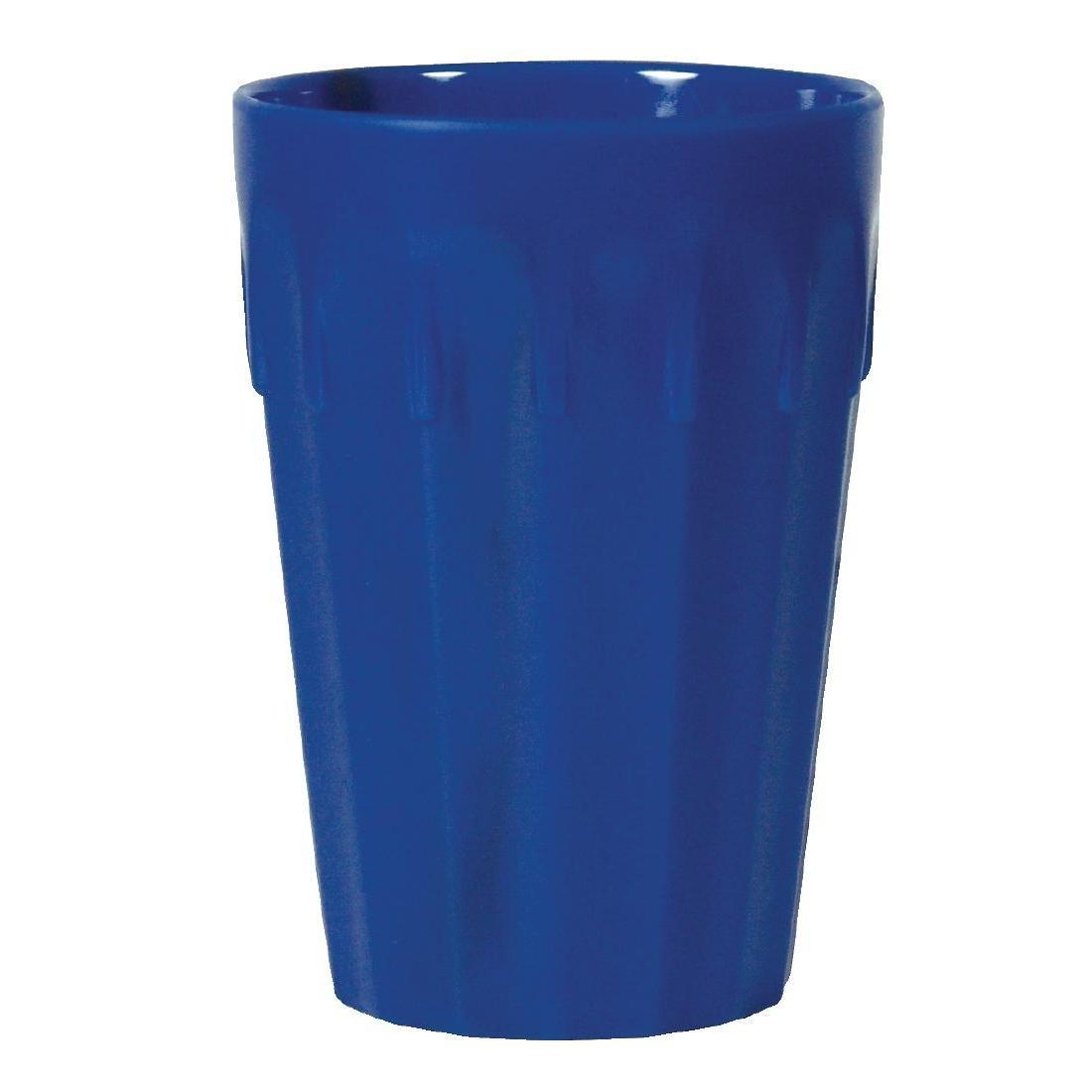 Kristallon Polycarbonate Tumblers Blue 260ml - Case 12 - CB777