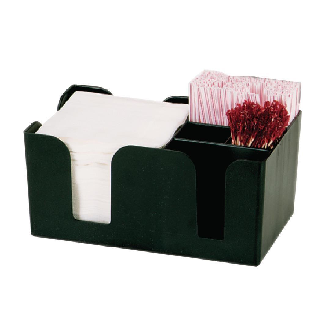 Kristallon Plastic Bar Caddy Black - Each - F980
