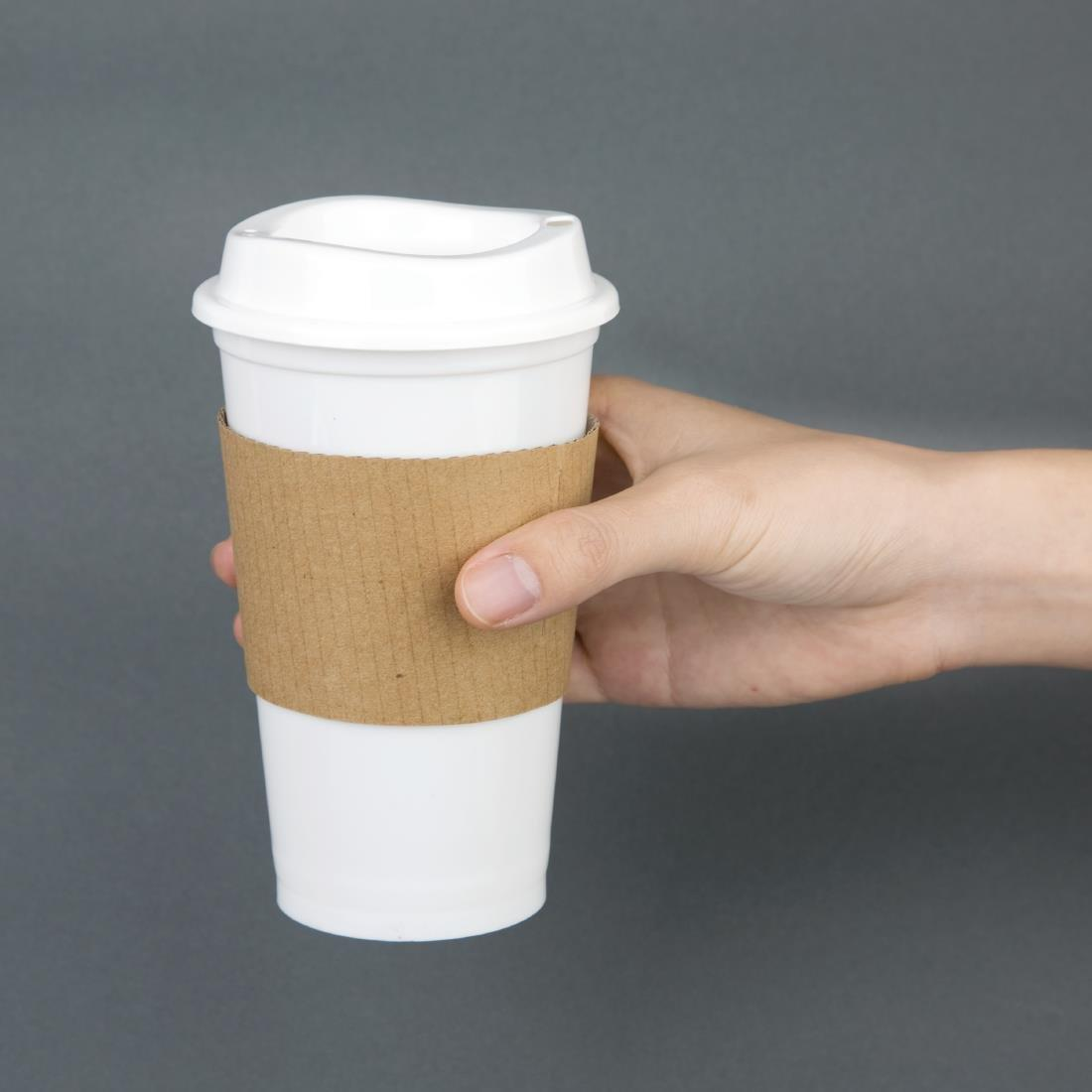 Olympia Polypropylene Reusable Coffee Cups 16oz (Pack of 25