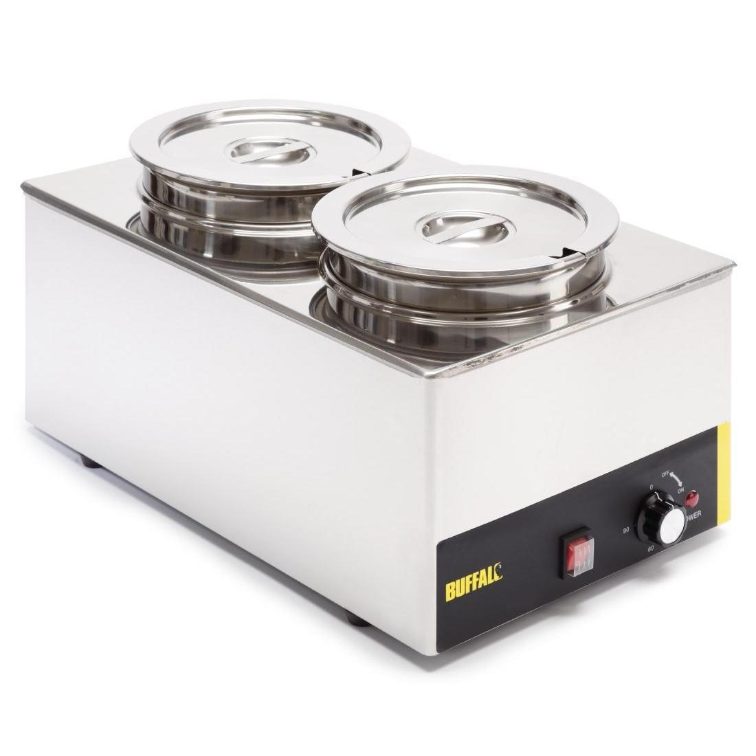 Buffalo Bain Marie With Round Pots - S077