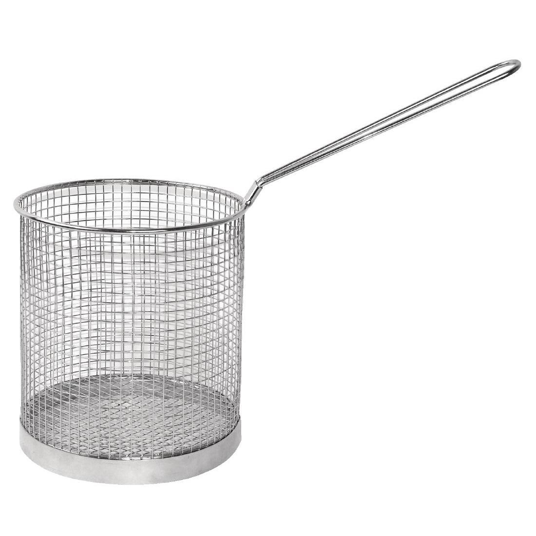 "Vogue Stainless Steel Spaghetti Basket 5.9"" - Each - J719"