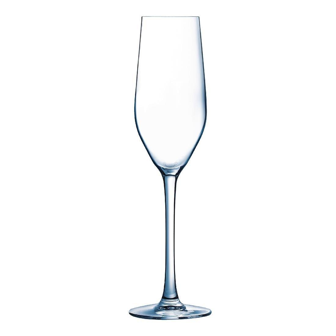 Arc Mineral Flute Glass Kwarx - 160ml 5.6oz (Box 24) - GD967