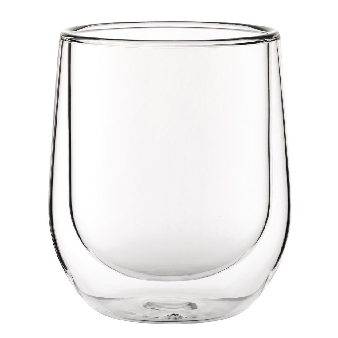 Double Walled Latte Glass - 270ml 9.7oz (Box 12) - CP883
