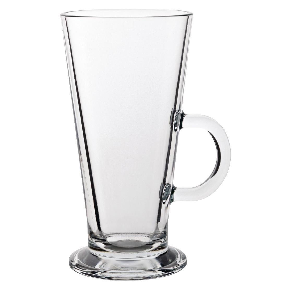 Latte Coffee Glass Toughened - 370ml 13oz (Box 6) - GF464