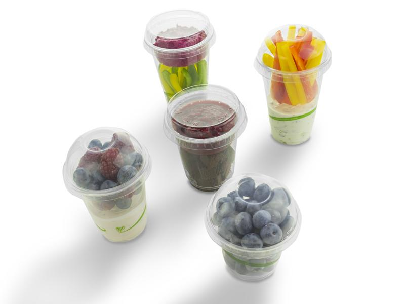 Compostable Cold Cup Lids