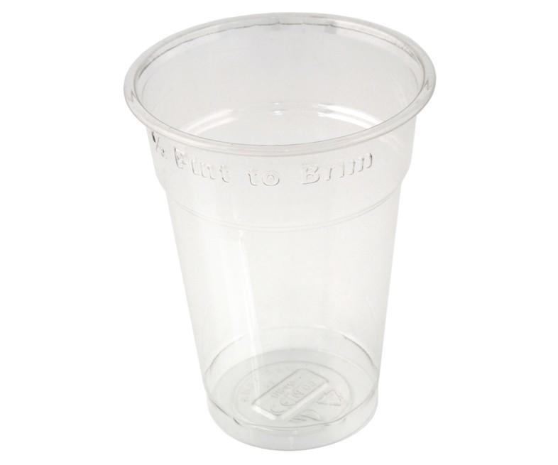 RPET Half Pint to Brim Tumblers CE Marked Recyclable