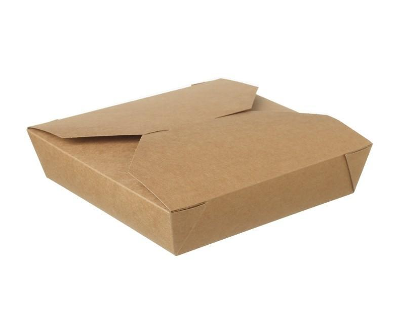 Kraft Hot Food Box Compostable #2c - 700ml